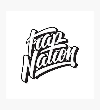 Trap Nation Photographic Print