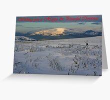 Ice Age Christmas Card Greeting Card
