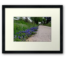 heart of the country Framed Print