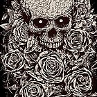 Skull & Roses by iRoNDesign
