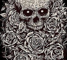 Skull & Roses by iRoN Design