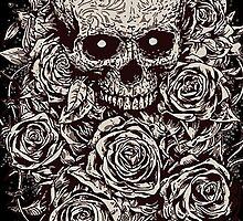 Skull & Roses by iRoN Design