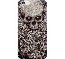 Skull & Roses iPhone Case/Skin
