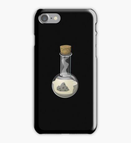 Glitch Alchemy rare potion rocky regeneration solution iPhone Case/Skin