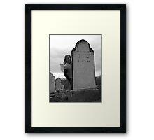 Graveyard Angel 2 Framed Print