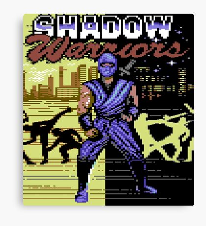 Shadow Warriors Canvas Print