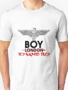 BOY TOY NAMED TROY Unisex T-Shirt