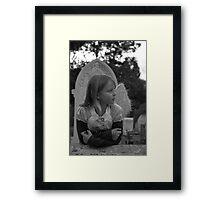 Grave Angel 4 Framed Print