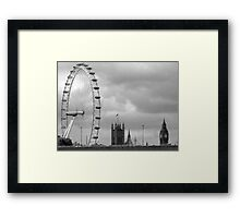 Olde and new London Framed Print