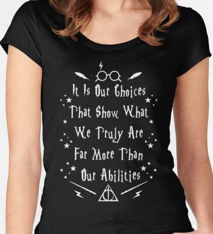 HP Quote Women's Fitted Scoop T-Shirt