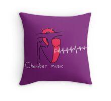 Chamber Music Throw Pillow