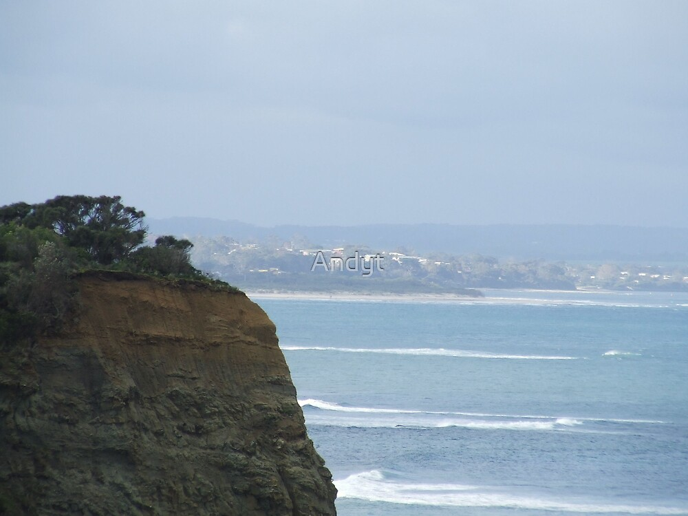 Inverloch from Eagels nest by Andrew Turley