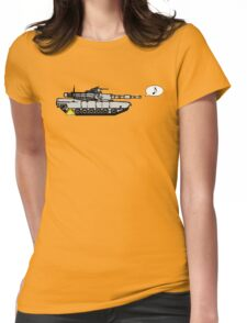 tow away zone Womens Fitted T-Shirt