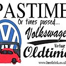 VW Vintage retro Old timers by Sharon Poulton