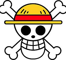 Straw Hat Luffy's Pirate Flag by shadow66