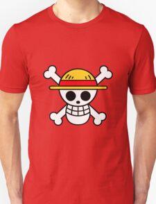 Straw Hat Luffy's Pirate Flag Unisex T-Shirt