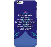 This is awkward... iPhone Case/Skin