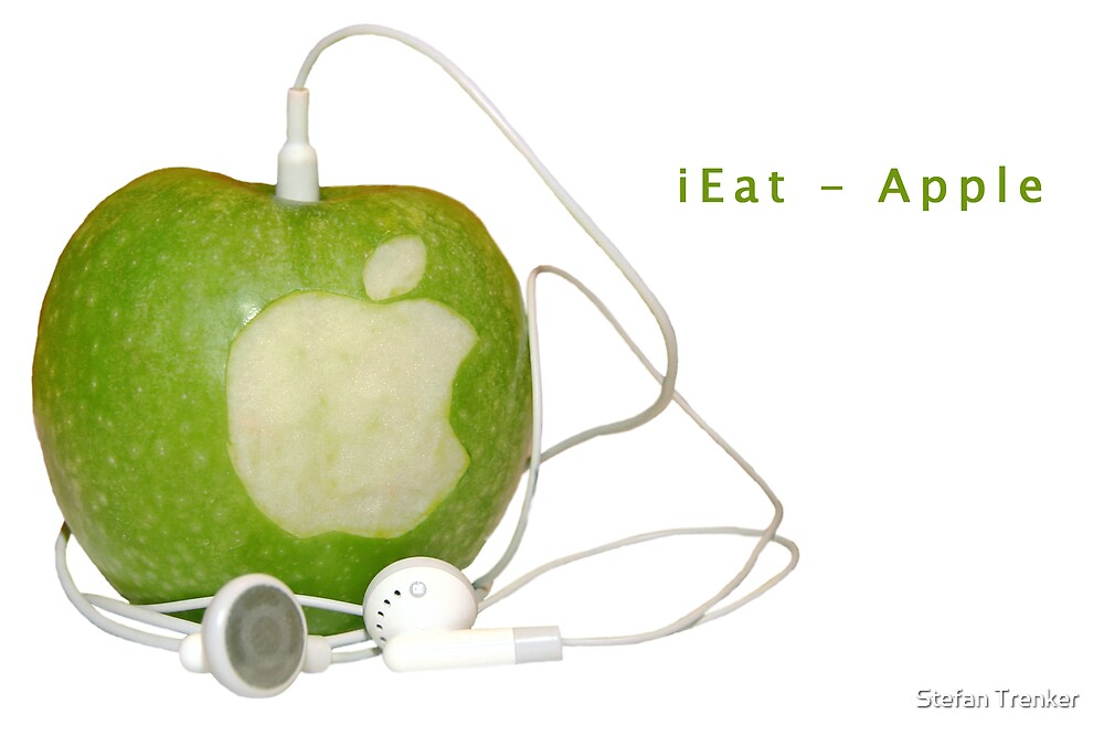 iEat - Apple by Stefan Trenker