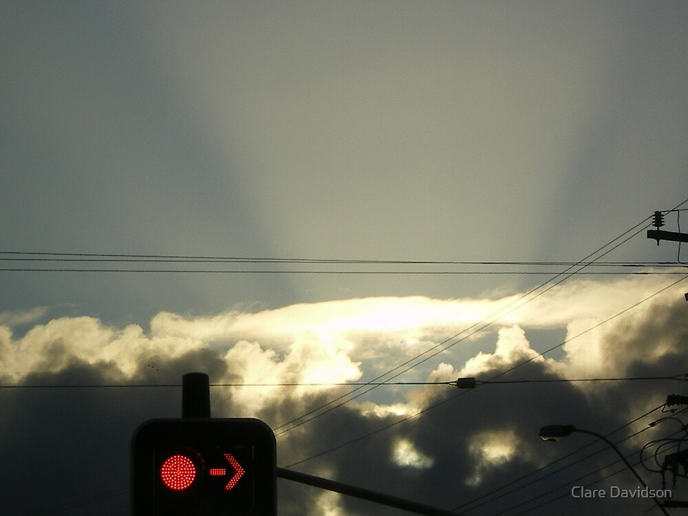 sun rays by Clare Davidson