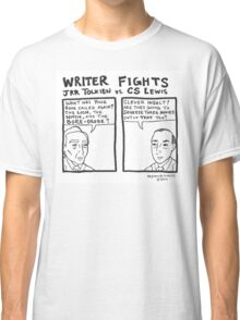 Writer Fights - Tolkien vs. Lewis Classic T-Shirt