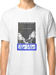 BLUE VELVET hand drawn movie poster in pencil Classic T-Shirt