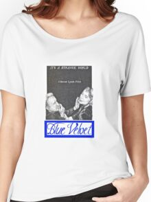 BLUE VELVET hand drawn movie poster in pencil Women's Relaxed Fit T-Shirt