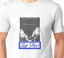 BLUE VELVET hand drawn movie poster in pencil Unisex T-Shirt