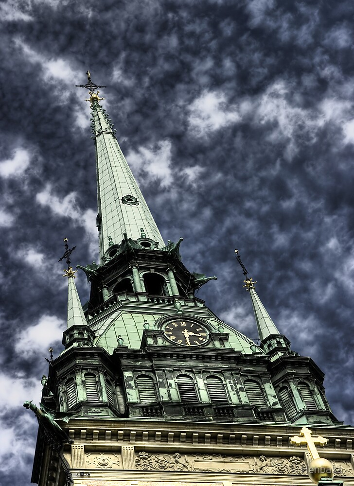 The tower (clr) by Henbaka