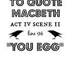 Macbeth by prettymuch