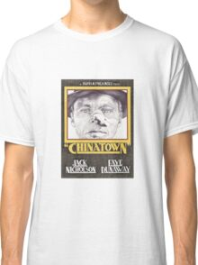 CHINATOWN hand drawn alternative movie poster in pencil. Classic T-Shirt
