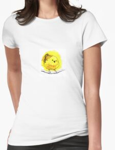 Yellow Warbler Womens Fitted T-Shirt