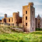 New Slains Castle Side View (Cruden Bay, Aberdeenshire, Scotland) by Yannik Hay