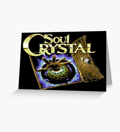 Soul Crystal Greeting Card