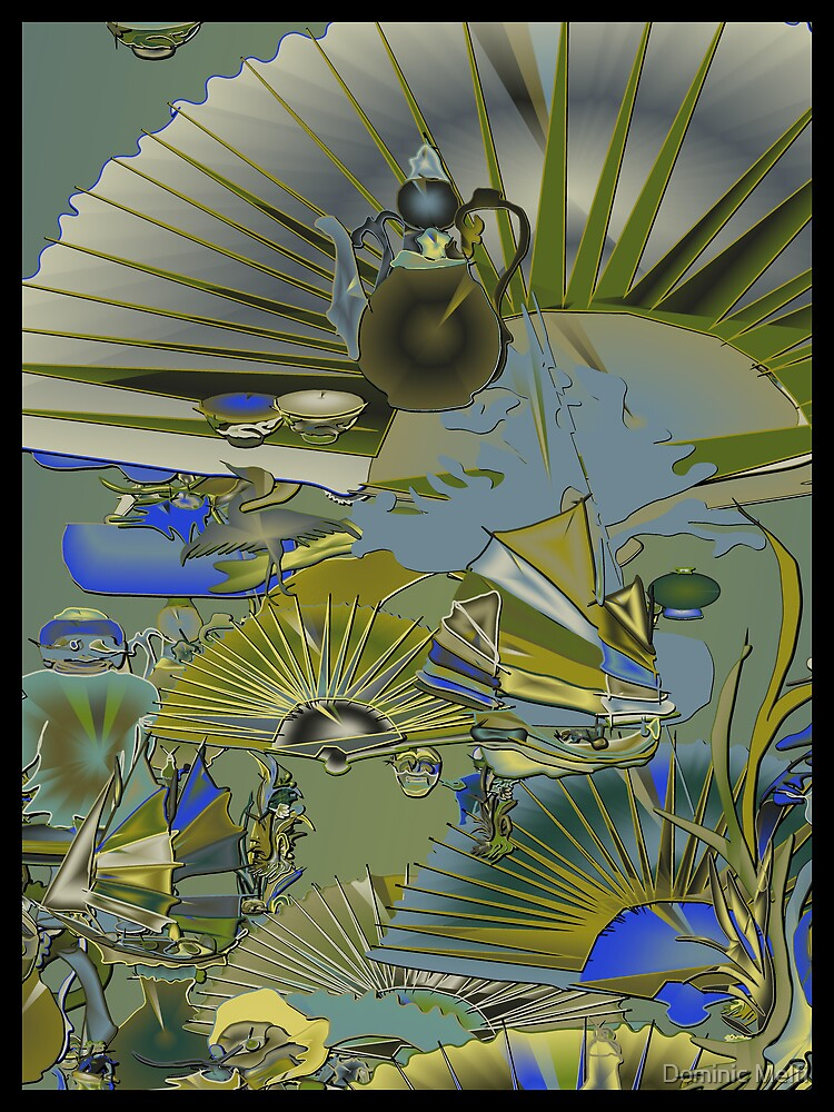 Oriental design by Dominic Melfi