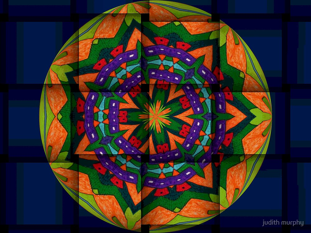 Plaited kaleidscope by judith murphy