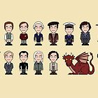 A Field Guide to the Common Cumberbatch (mug) by redscharlach