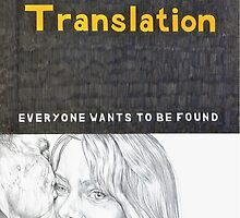 LOST IN TRANSLATION hand drawn movie poster in pencil by theexiledelite