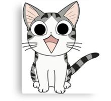 Chi The Cat Canvas Print