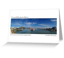 Townsville Breakwater Marina Greeting Card