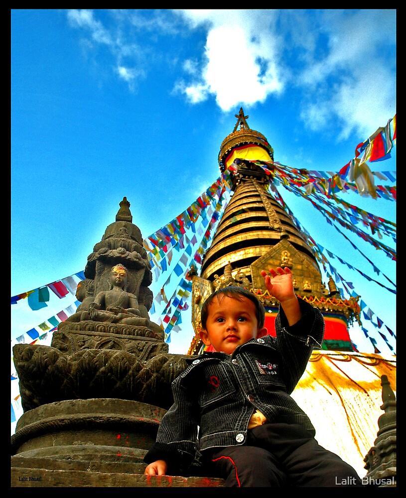 Buddha & Me by Lalit  Bhusal