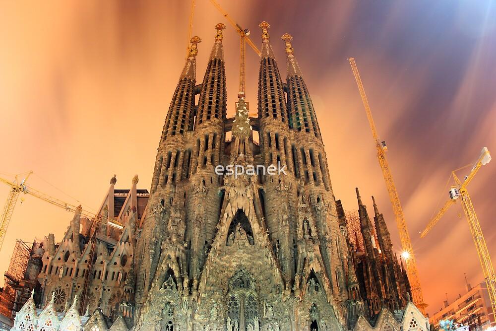 Sagrada Familia by espanek