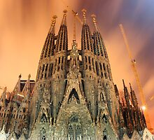 Sagrada Familia by espanek