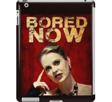 Pam is bored (I'd start running) iPad Case/Skin