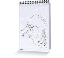 Petits Dessins Debiles - Small Weak Drawings#09 Greeting Card