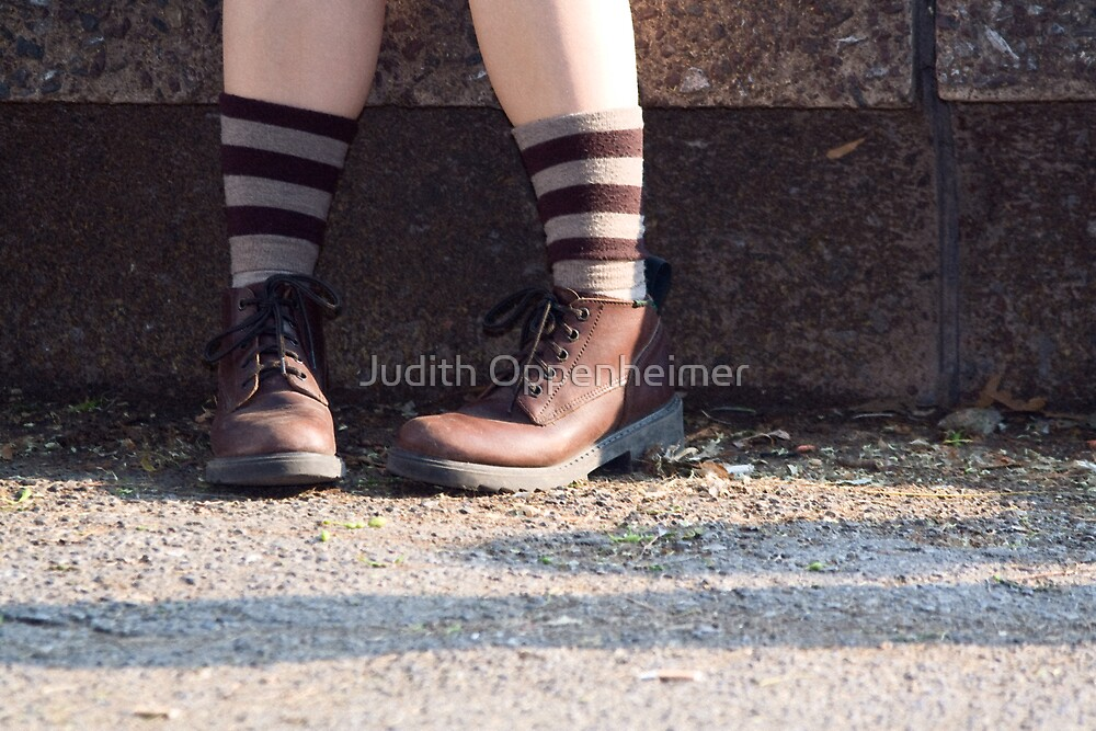 Two Shoes by Judith Oppenheimer
