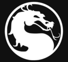 Mortal Kombat Symbol - White by germanmuffin