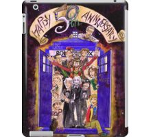 Crowded in the TARDIS (Doctor Who 50th Anniversary) iPad Case/Skin