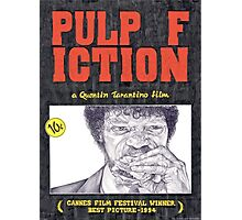 PULP FICTION hand drawn movie poster in pencil Photographic Print