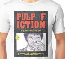 PULP FICTION hand drawn movie poster in pencil Unisex T-Shirt