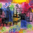 Psychedelic City 3 by Liz Plummer